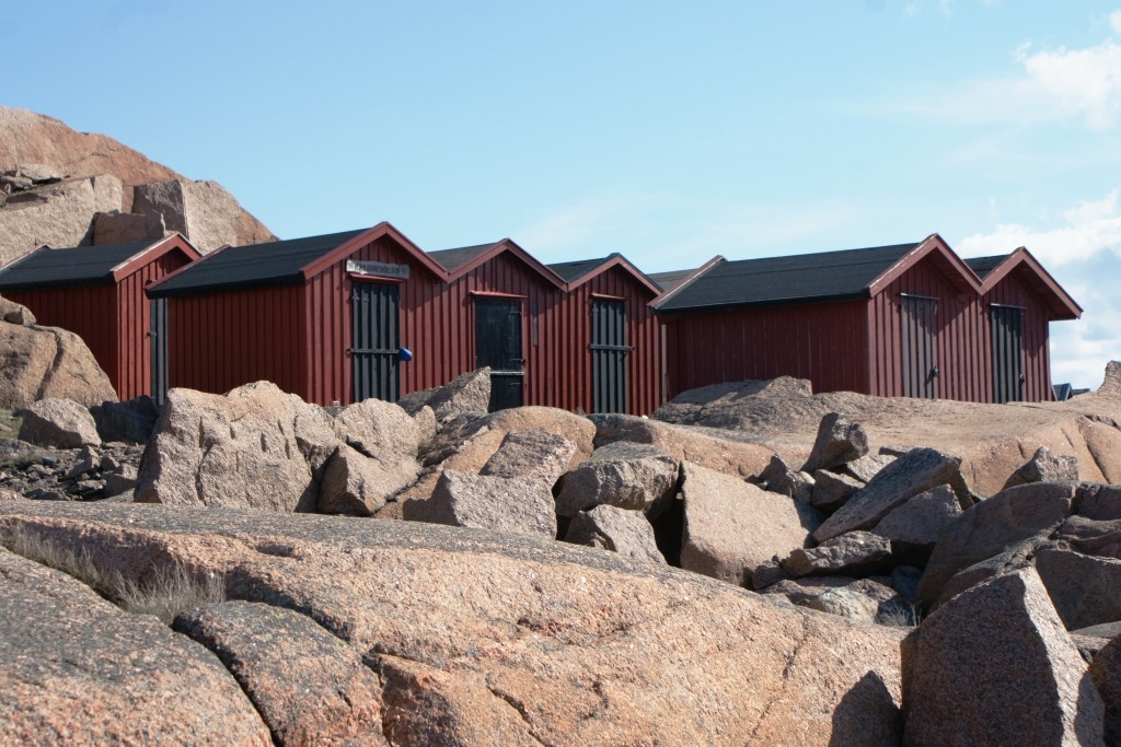 Beach houses in Lysekil