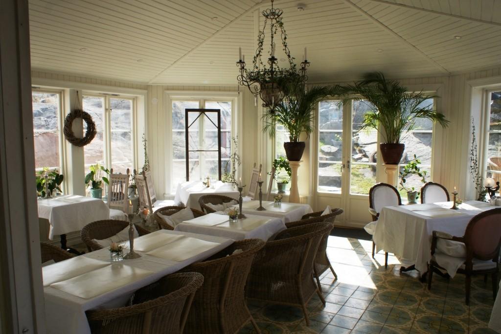 Dining room at Strandflickorna