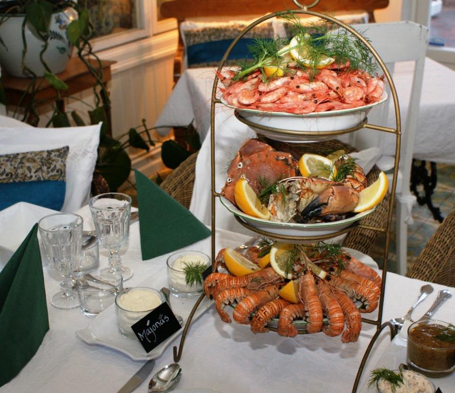 Seafood at Strandflickorna