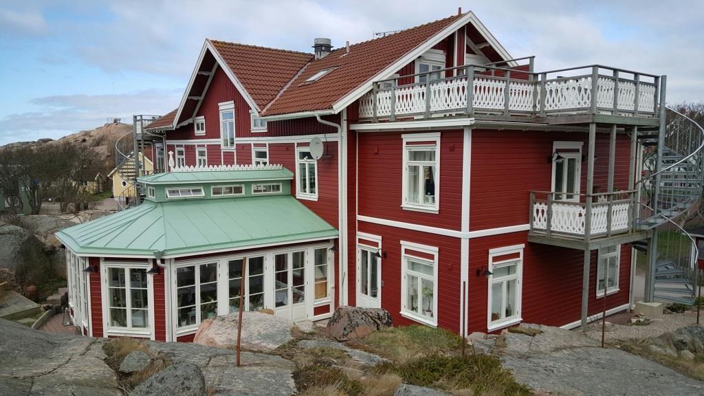 Strandflickorna Coastal Hotel. Photo: Helgard Mahrdt