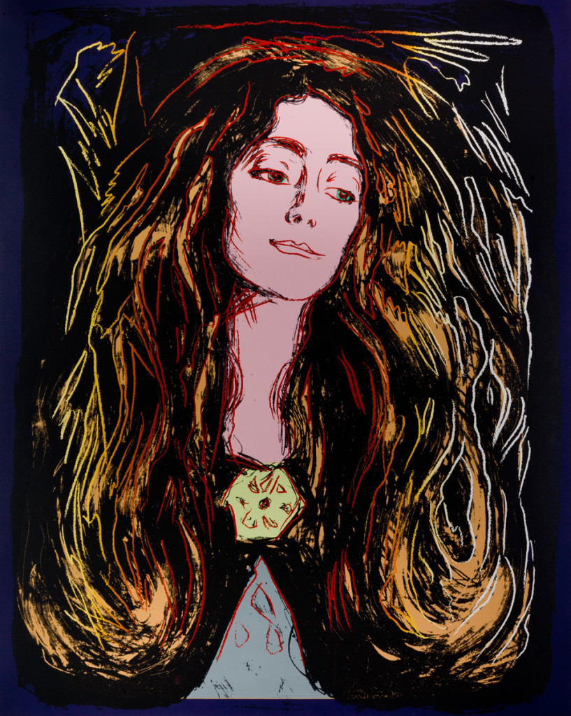 edvard munch through the eyes of andy warhol discover scandinavia eva mudocci by andy warhol