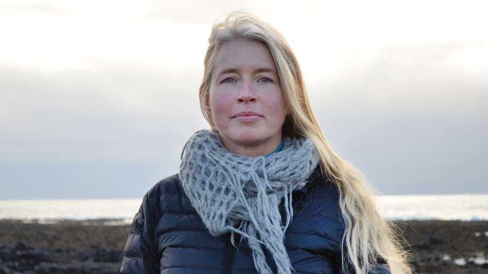 Participating artist Eva Bakkeslett