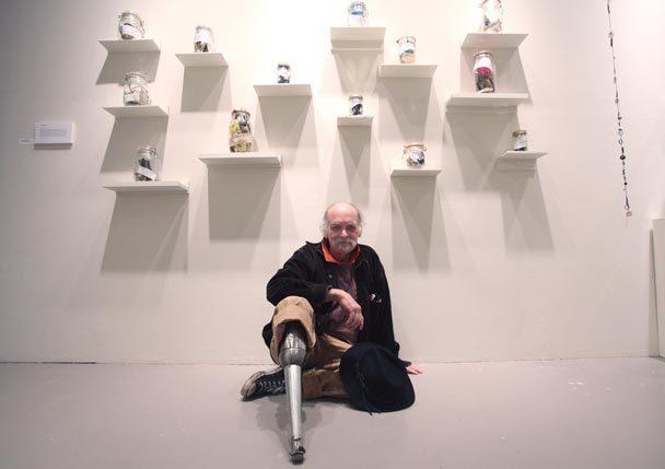 Participating artist Joe Davis