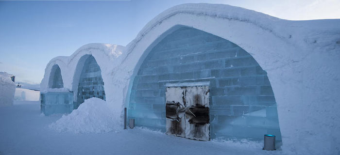 Ice hotel Jukkasjan