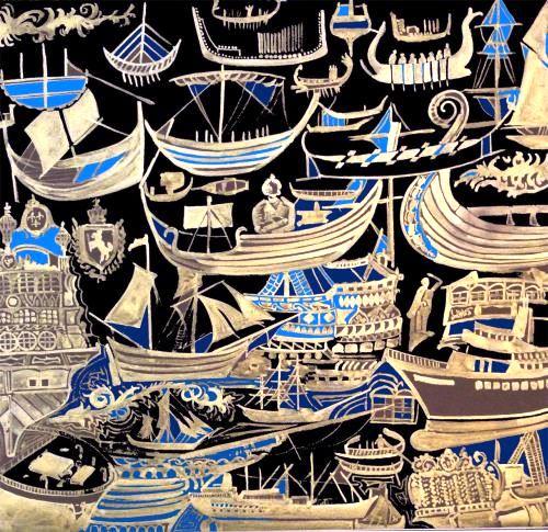 Black boat by Amar Aziz