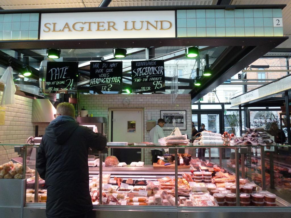 Butcher in Torvhallerne