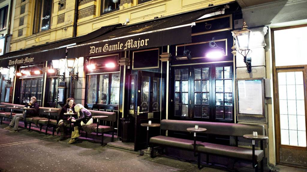 """""""Den Gamle Major"""" used to be one of Oslo's roughest pubs"""