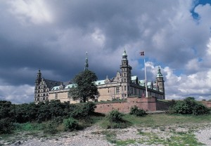 Kronborg castle in Elsinore, Denmark. From our archives