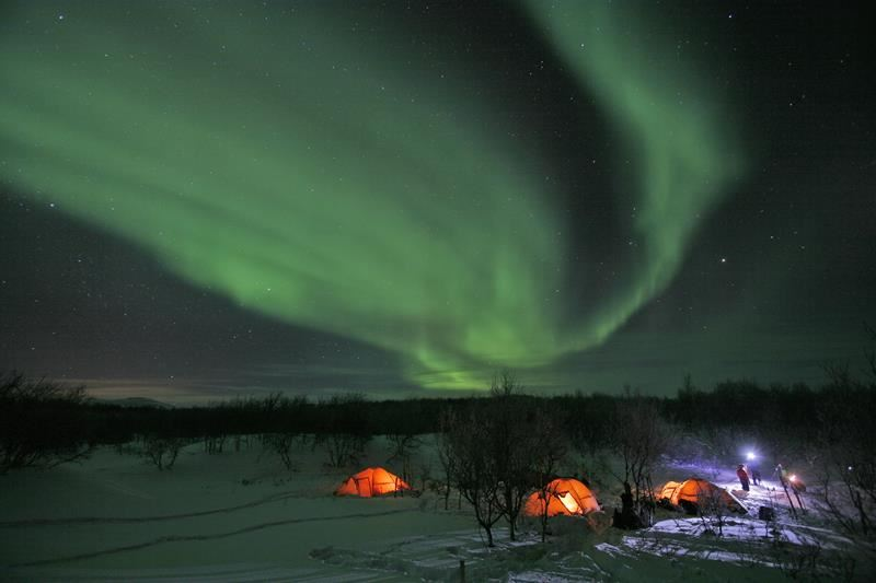 Record Number for Northern Lights Tourism