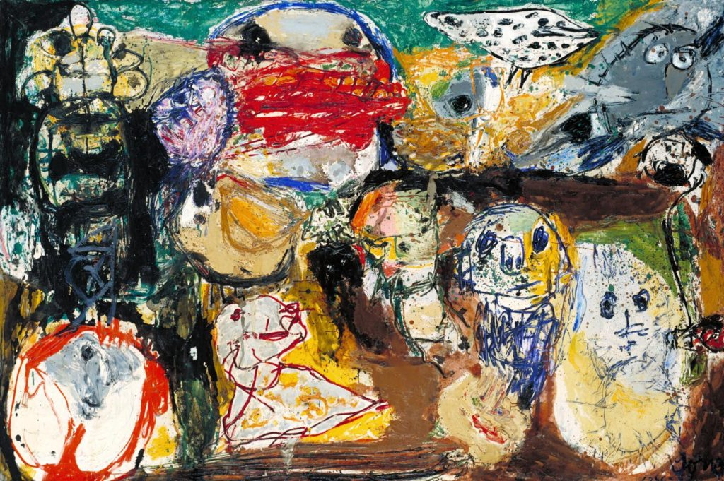 Art and culture in Denmark - Letter to my Son 1956-57 by Asger Jorn (1914-1973)