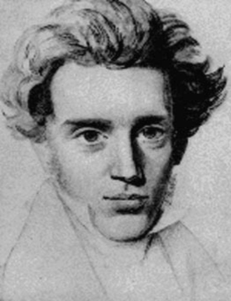 Art and culture in Denmark - Søren Kierkegaard