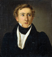 Art and culture in Denmark - August Bournonville. Painting 1828