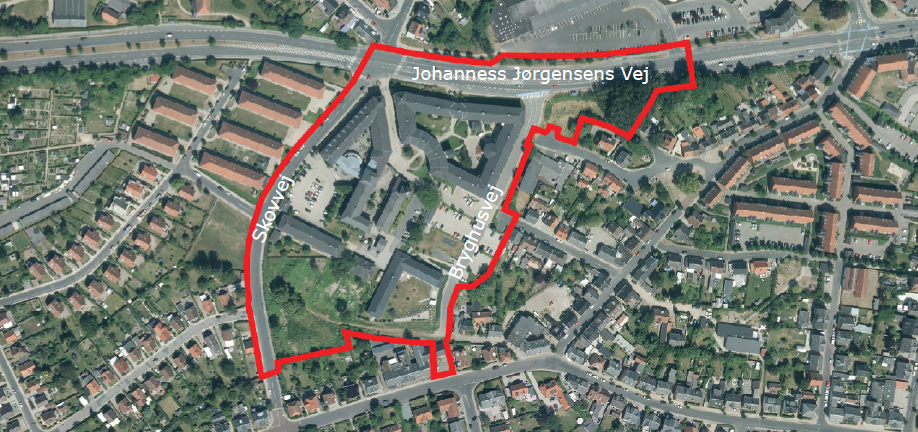 Airphoto - Dementia Village in Denmark