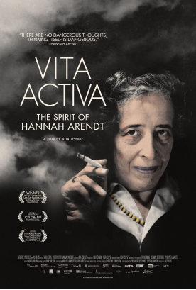 Prize Winning Documentary and Debate on Hannah Arendt in Oslo