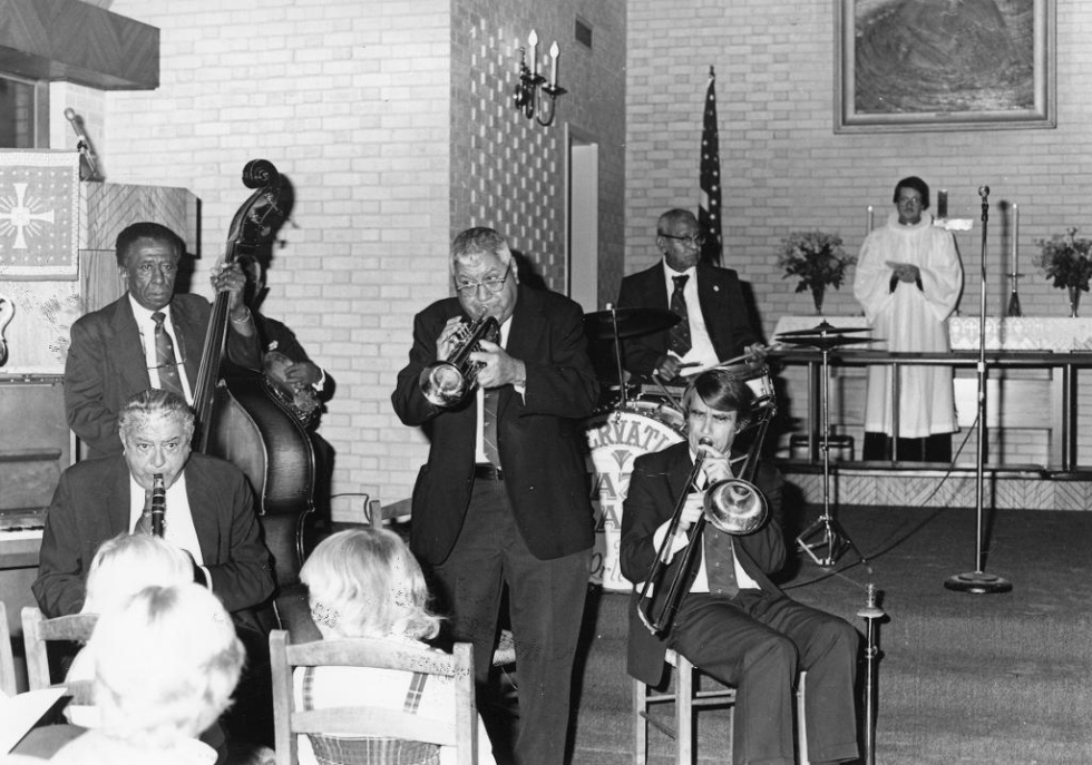 The Scandinavian Jazz Church in New Orleans