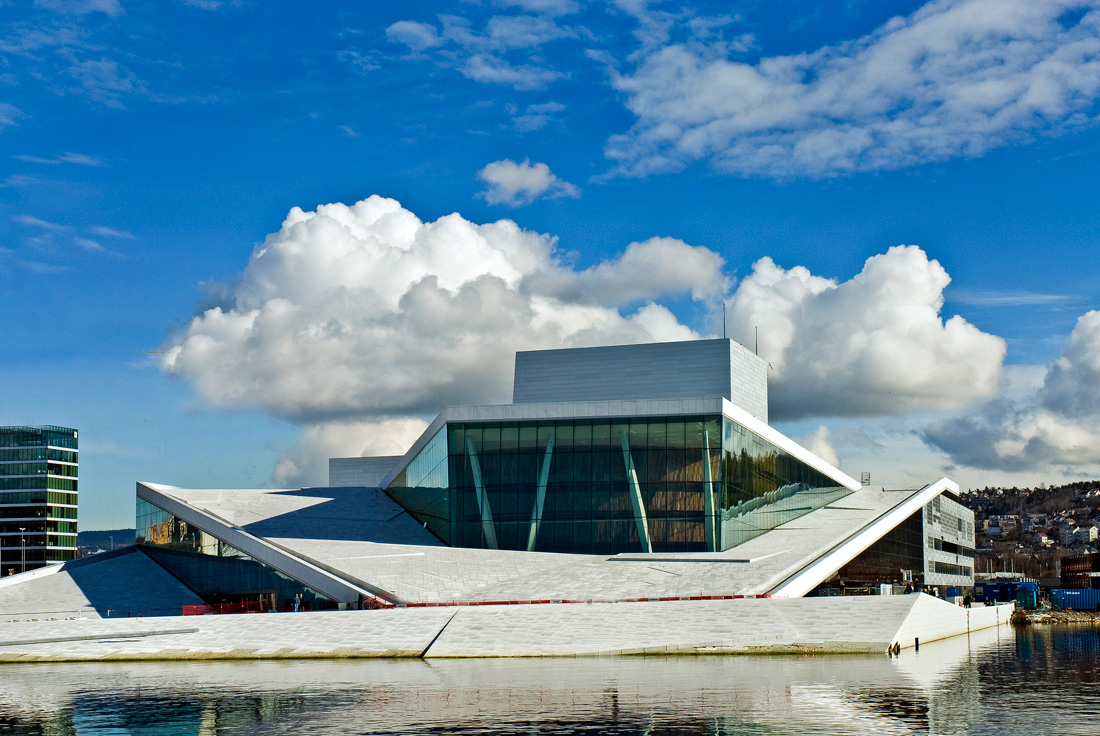 The Opera House in Oslo