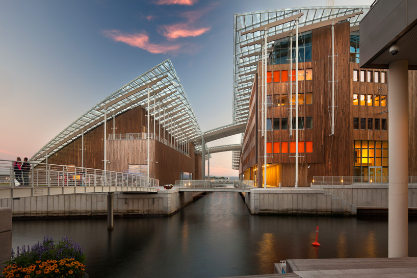The Astrup Fearnley Museum of Modern Art in Oslo