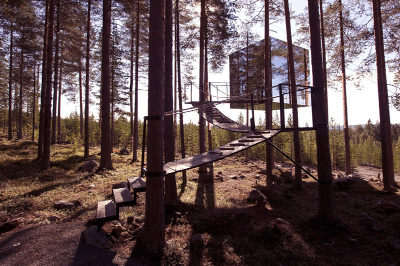 Biggest Treehouse In The World 2013 world's largest treehouse hotel room in sweden - discover scandinavia