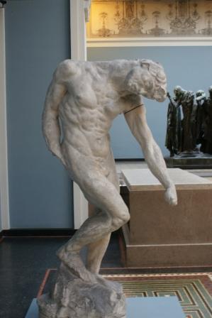 Adam by Rodin