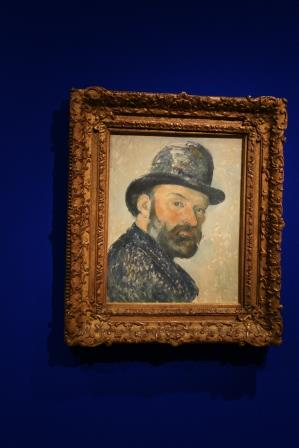 Paul Cezanne: Self Portrait with Bowler Hat