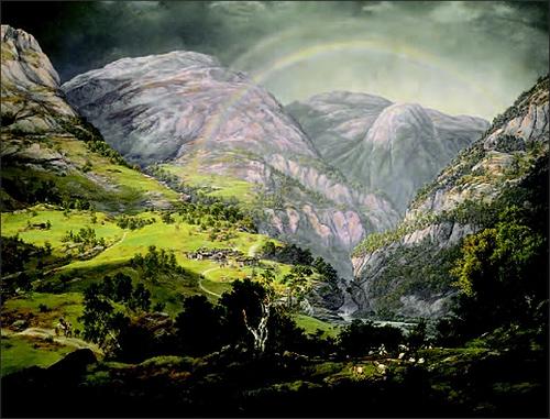 Johan Christian Dahl: View from Stalheim