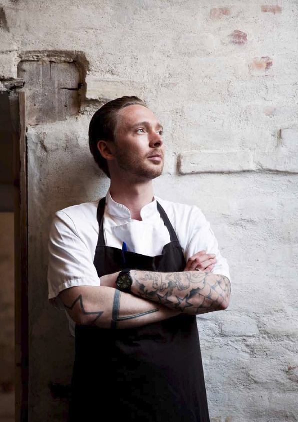 Head chef Jonas Christensen