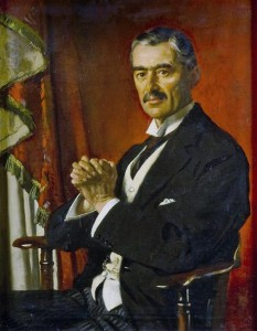Neville Chamberlain by William Orpen,1929