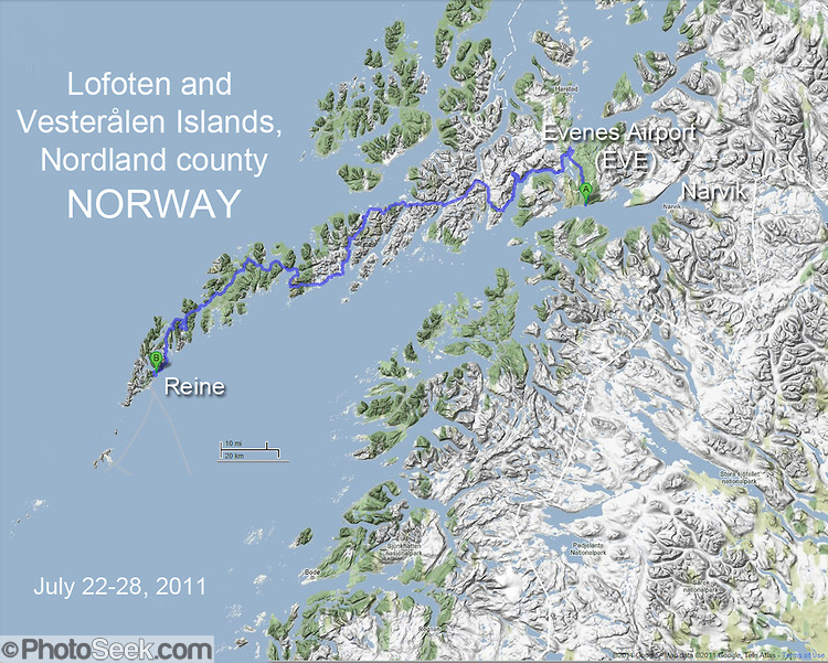 Picturesque Norway Discover Scandinavia - Norway highway map