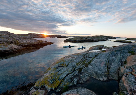 Kayaking in Gotehneburgh. Photo Henrik Trygg/Visit Sweden