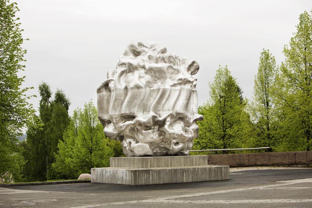 Skulptur-stopp Gjovik, Richard Deacon