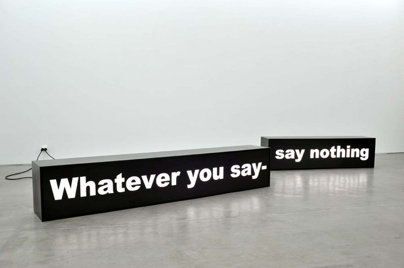"""Say nothing"" by Gardar Eide Einarsson"