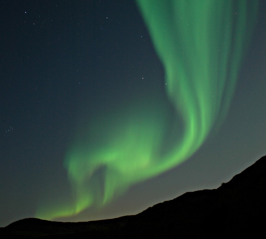 Atrora borealis in Sweden