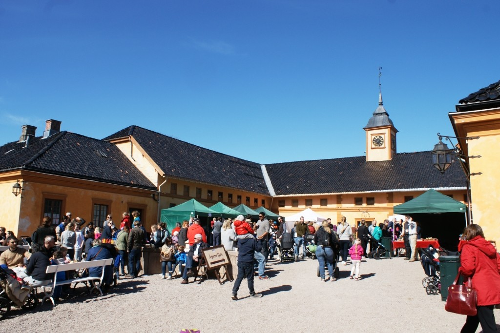 Farmers' market at Bogstad Manor