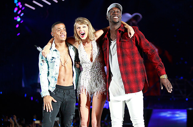 Nico & Vinz with Taylor Swift, 1989 Tour