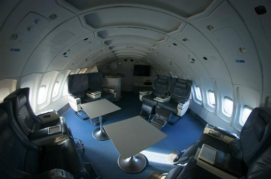The Lounge in Jumbo Jet Hotesl