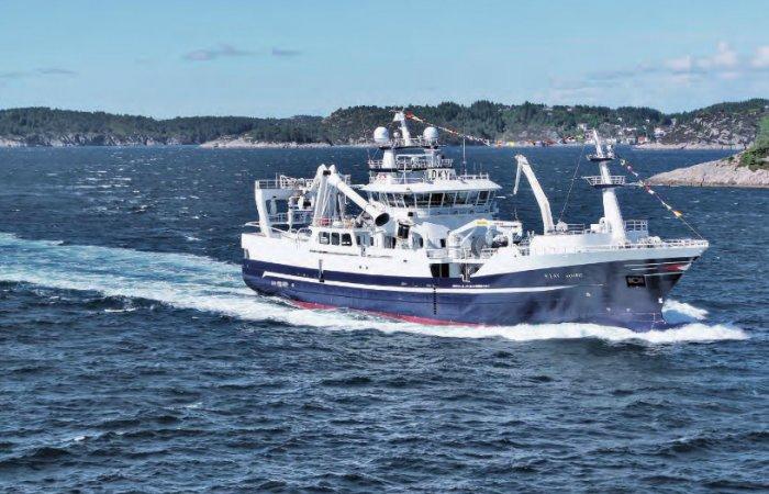 Fishing vessel in Western Norway