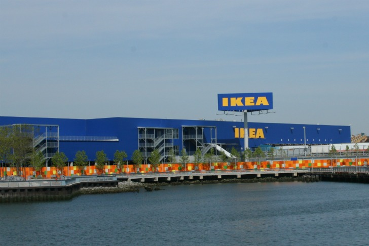 Ikea solar powered Red Hook store