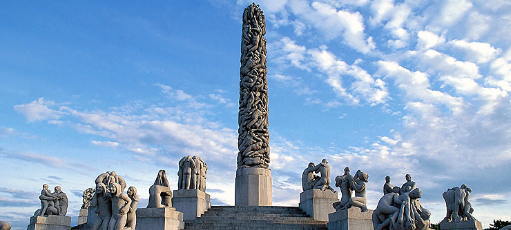 The Monolith, Vigeland Sculpture Park, Photo: Nanxcy Brundt, Visit Oslo