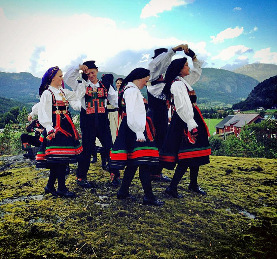 Folk Dance in Setesdal