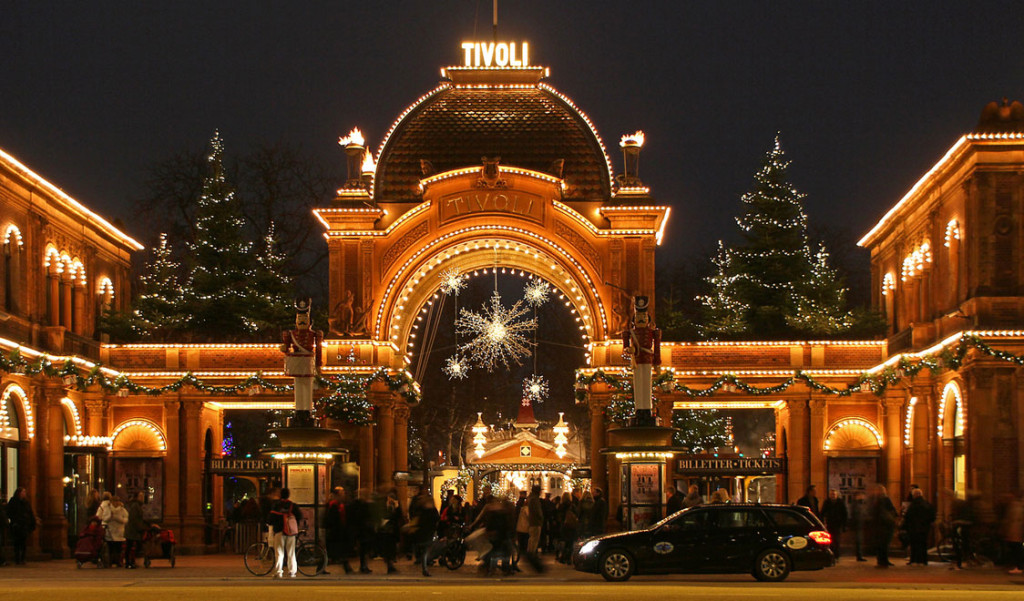 Tivoli, Copenhagen in December