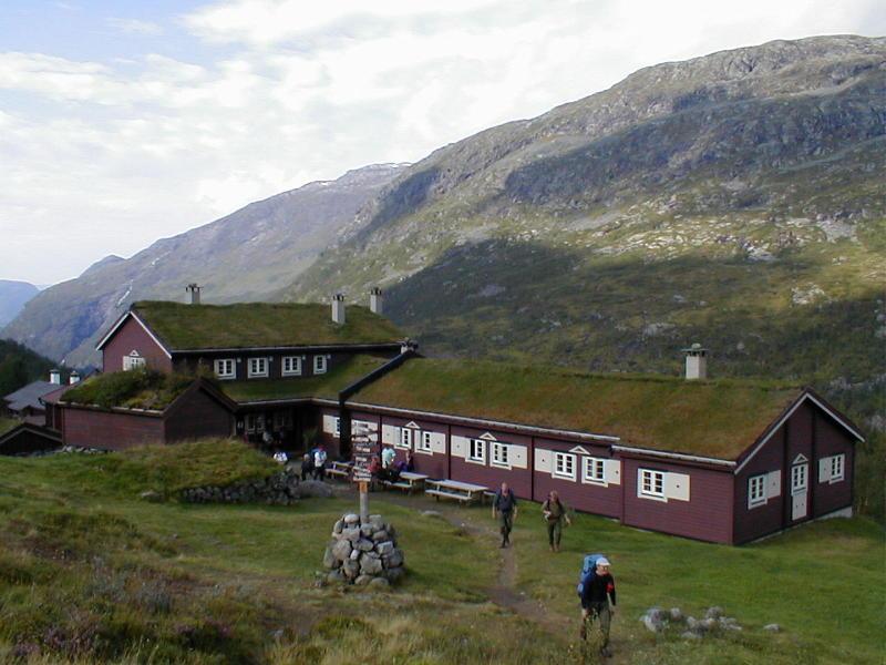 Skogadalsboen cabin
