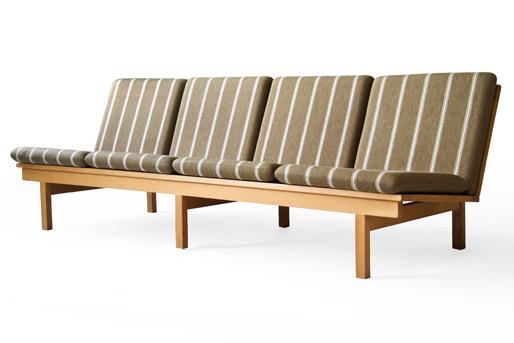 Fredericia oak sofa
