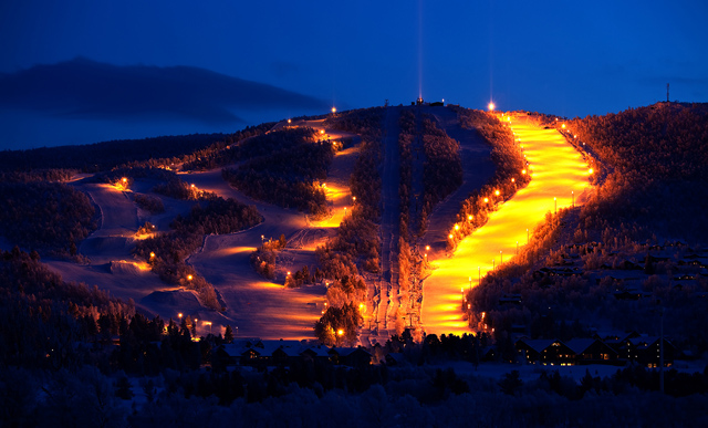 Geilo by night