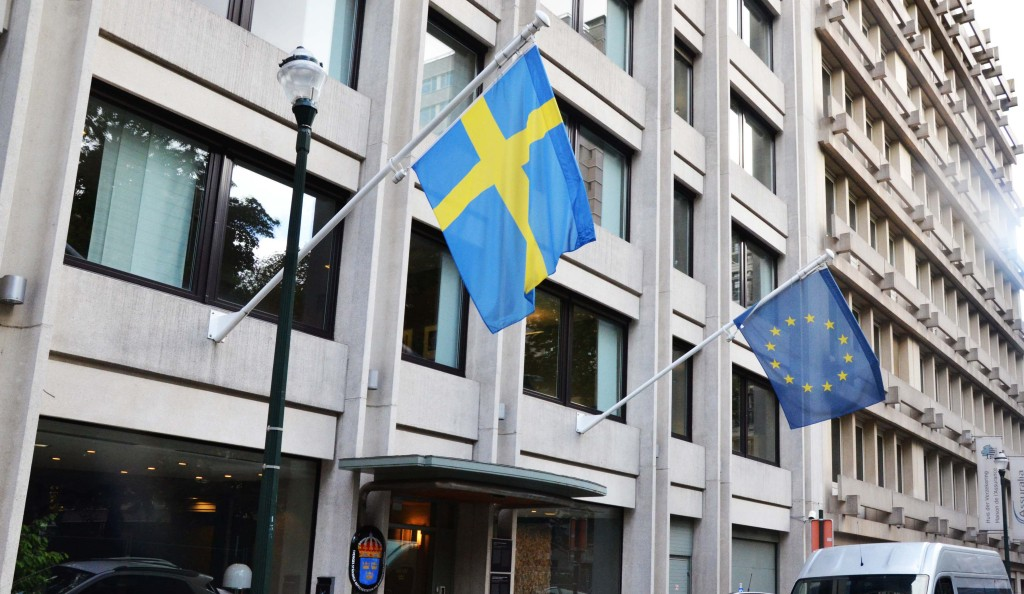 Sweden's Permanent Representation to the European Union. Photo by Per Sandström /Regeringskansliet