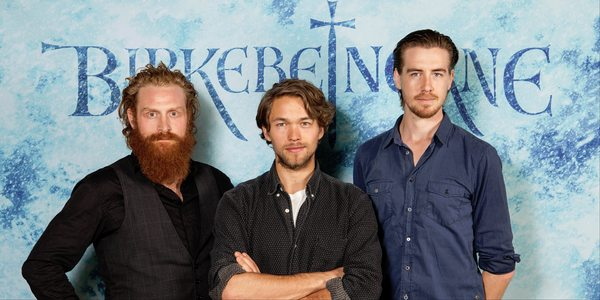 From left: Kristofer Hivju, Jakob Oftebro and Paal Sverre Hagen