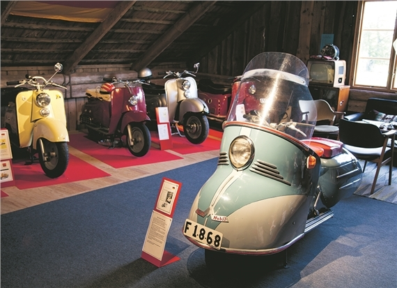 Scooter museum, Kallby