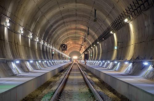 Hallandsaas railway tunnel