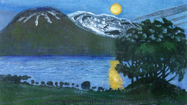 Astrup, Moon in May