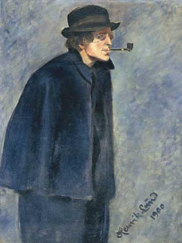Nikolai Astrip, painting by Henrik Lund, 1900