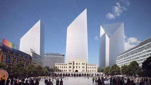 Asplan proposal: Sleak towers